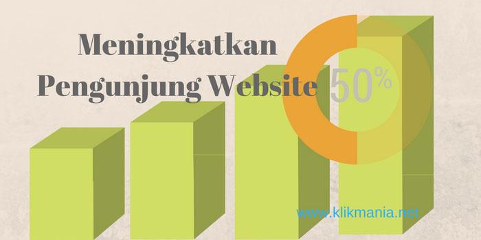 meningkatkan pengunjung website
