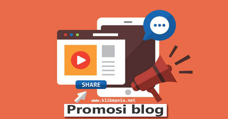 Strategi promosi blog