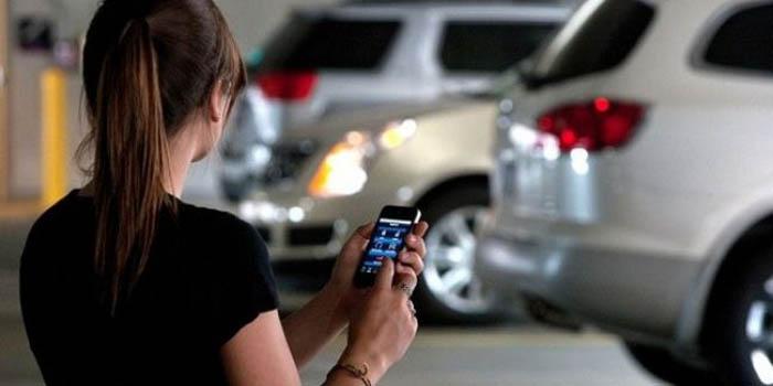 Alat canggih untuk mobil sistem jarak jauh
