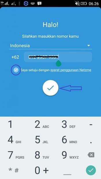 Aplikasi Social Payment Netzme