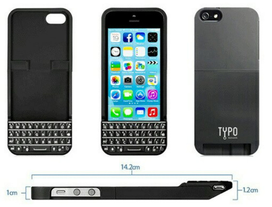 Sarung qwerty iphone