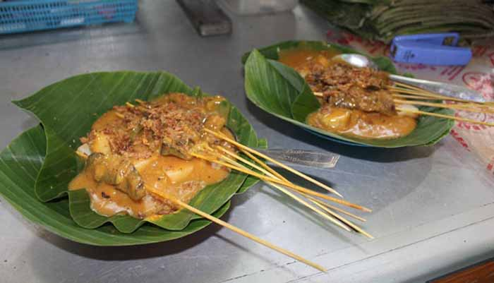 Sate Danguang-danguang bukittinggi