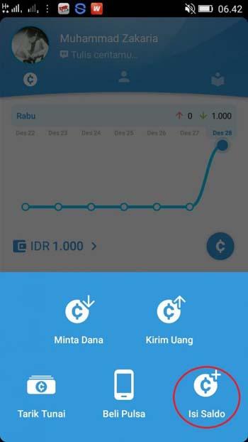 Aplikasi social payment