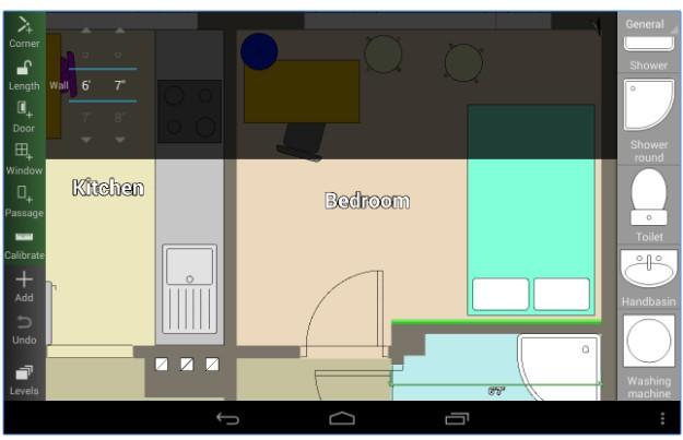 Aplikasi android floor plan creator