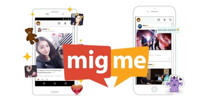 Aplikasi chat migme