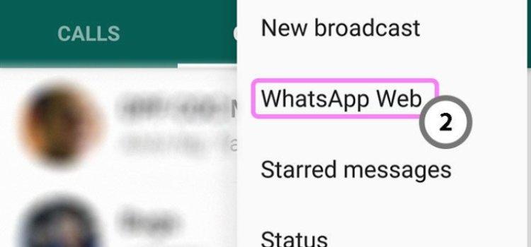 menggunakan whatsapp di laptop