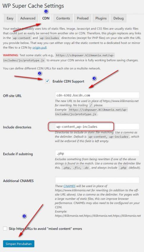 cara menggunakan cdn