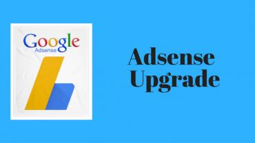 Upgrade akun adsense