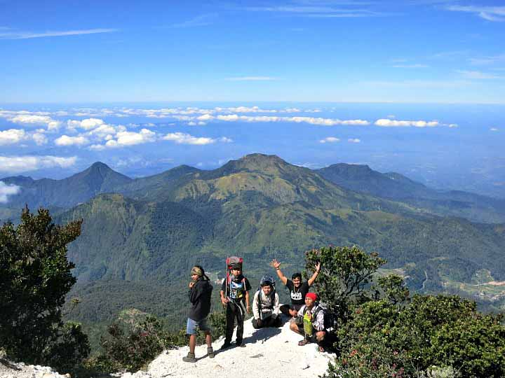 destinasi wisata gunung