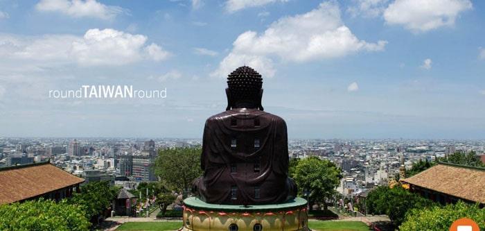 Patung Raksasa The Great Buddha di Taiwan