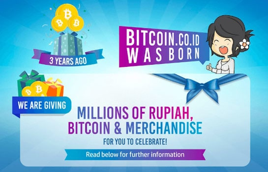 Giveaway Bitcoin Indonesia