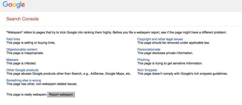 5 Strategi SEO beresiko yang mungkin berhasil untuk website kamu-google report