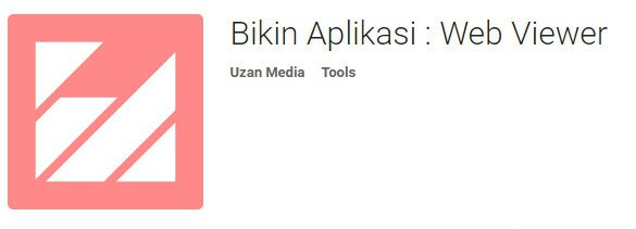 Aplikasi Web View