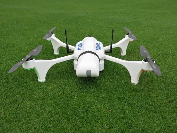 Saving Live Drone Nokia