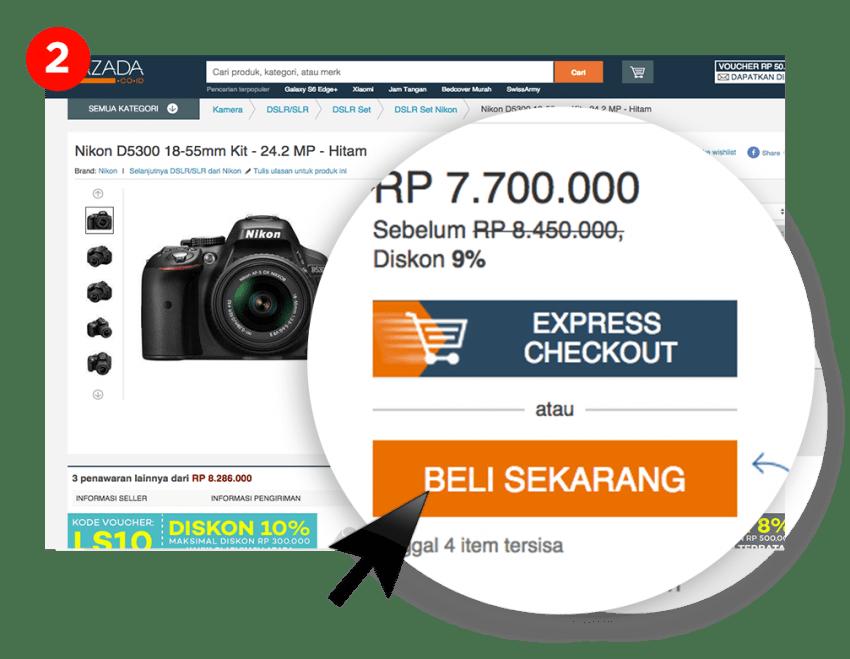 Belanja di situs ecommerce Indonesia