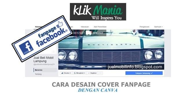 cara desain cover fanpage facebook