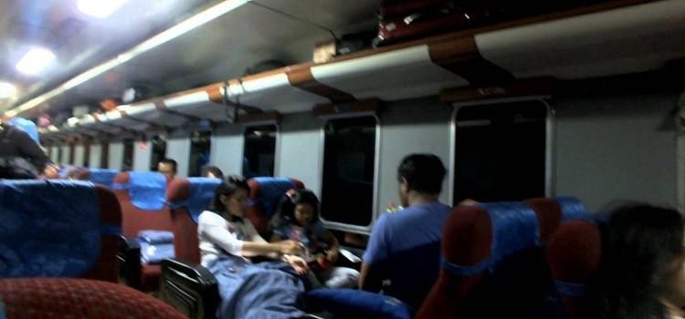 Kereta malam kelas eksekutif. Sumber foto: rizaldy oktaviano