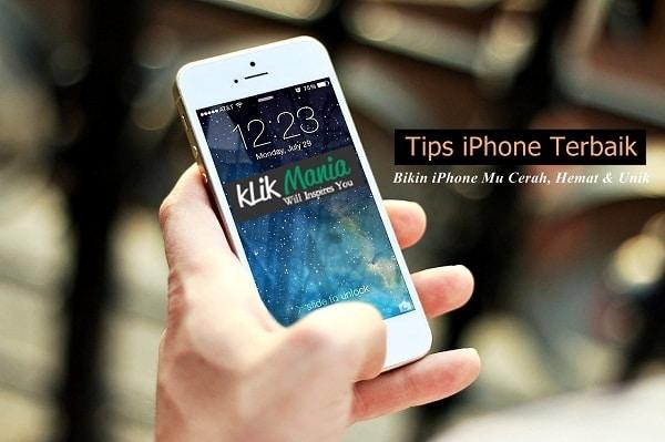 Tips iPhone terbaik