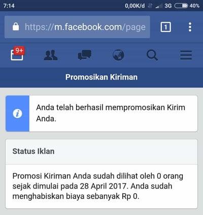 beriklan di facebook