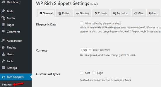 menambahkan schema dan rich snippets