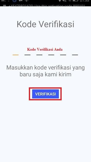 Kode Verifikasi AyoSLide