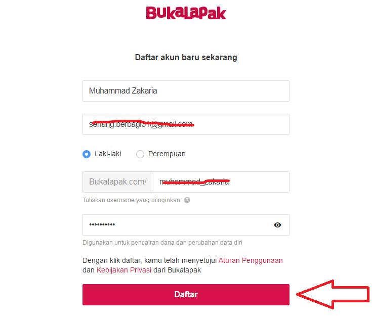 Toko online Bukalapak