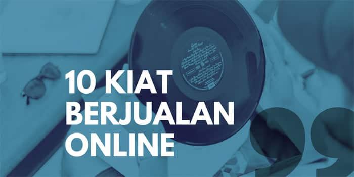 Kiat berjualan online