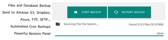 plugin backup terbaik