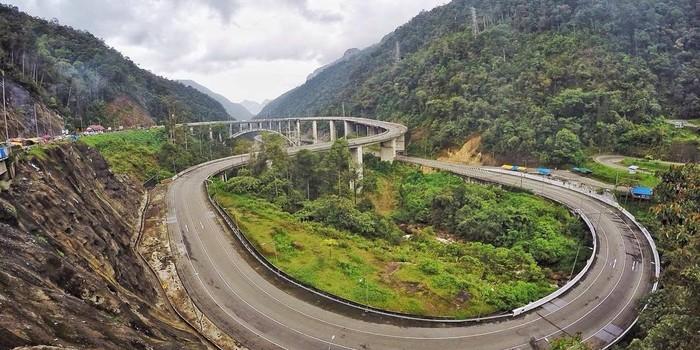 Jembatan kelok 9 sumatera barat