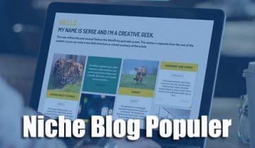 Niche Blog paling populer