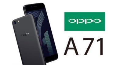 Smartphone Oppo A71 Tampil Dengan Ram 3 Gb Dan Kamera 13 Mp
