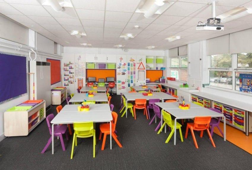 Interior And Furniture Design Schools ~ Ide desain interior ruang kelas untuk menciptakan kenyamanan