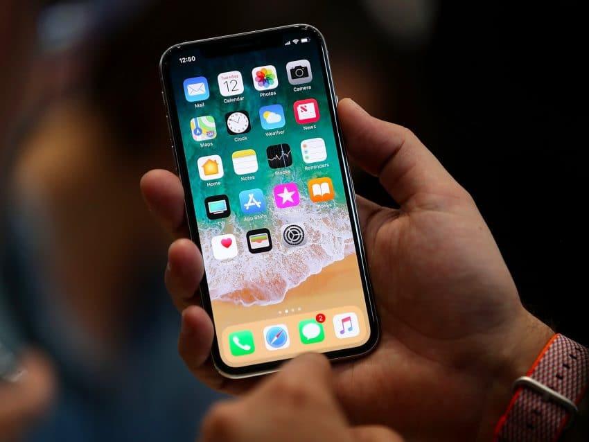 smartphone mirip iphone x