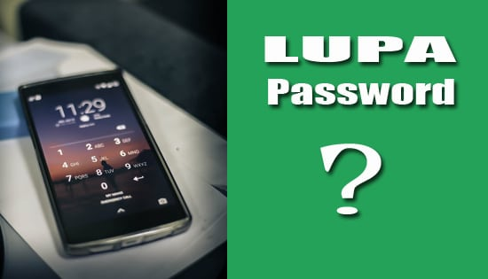 Cara Membuka Hp Android Lupa Password