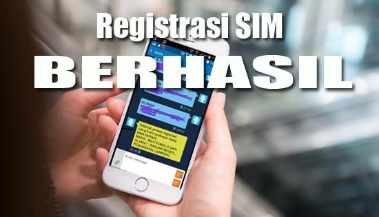 Registrasi Kartu SIM Gagal terus