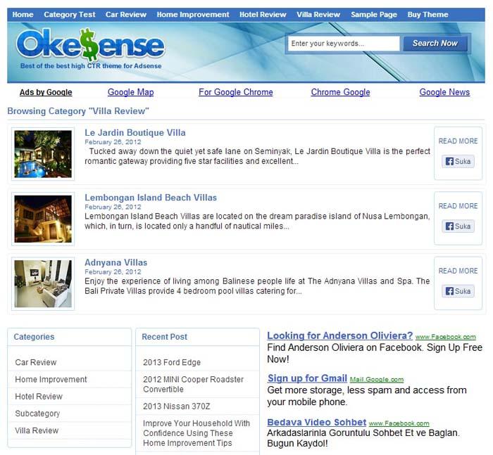 okesense theme wordpress super seo2