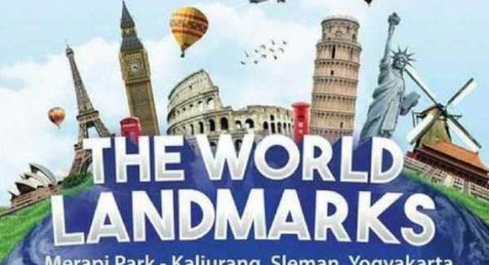 11 Wahana The World Landmarks Merapi Park Jogja Wisata Terbaru Yogya