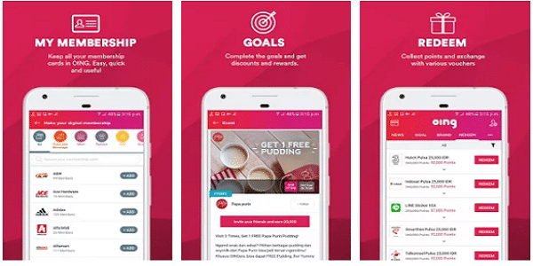 Aplikasi Oing untuk Android