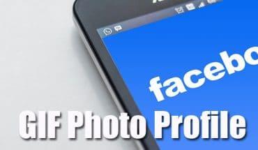 Cara Mudah Membuat Foto Profil Facebook Bergerak