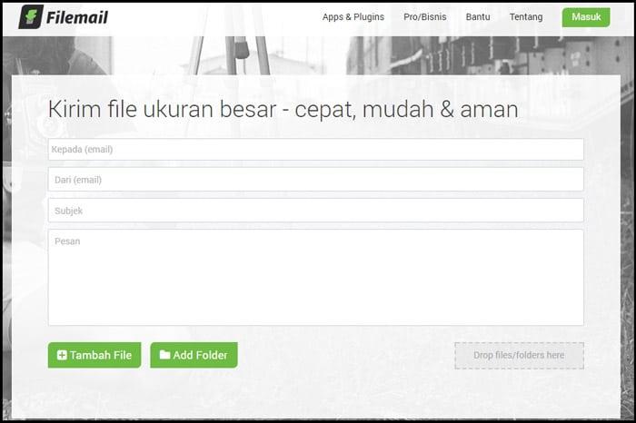 Mengirim File Online Besar 2