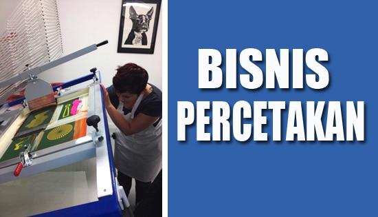 Peluang bisnis percetakan untung besar