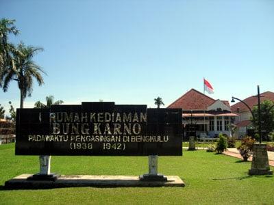 obyek wisata di kota Bengkulu