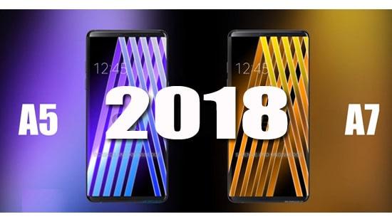 Samsung Galaxy A5 Dan A7 2018