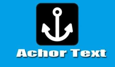 Pengertian anchor text dalam seo