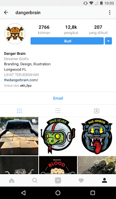 membangun instagram