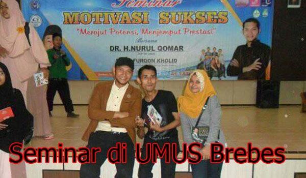 Seminar di Kampus milik Muhadi Setiabudi