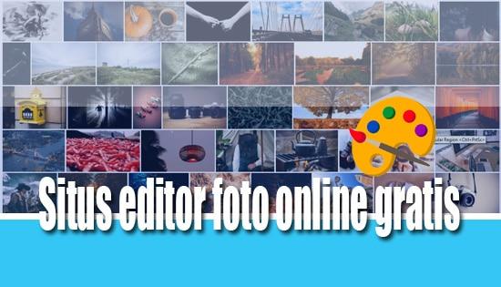 situs editor foto online gratis