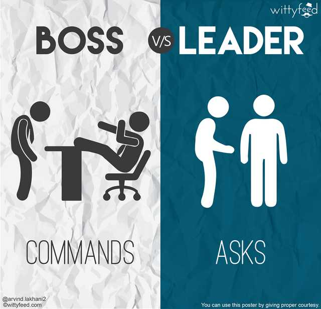 pemimpin dan bosa