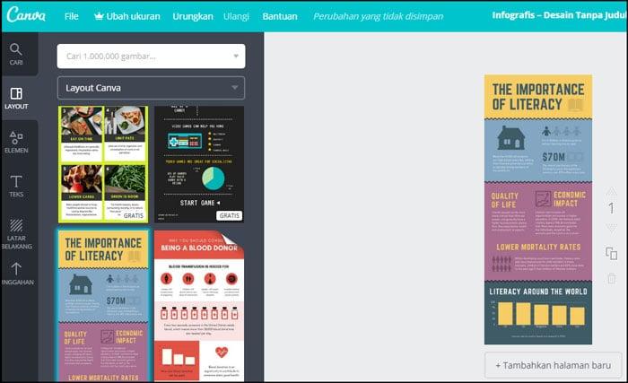 Situs Pembuat Infografis