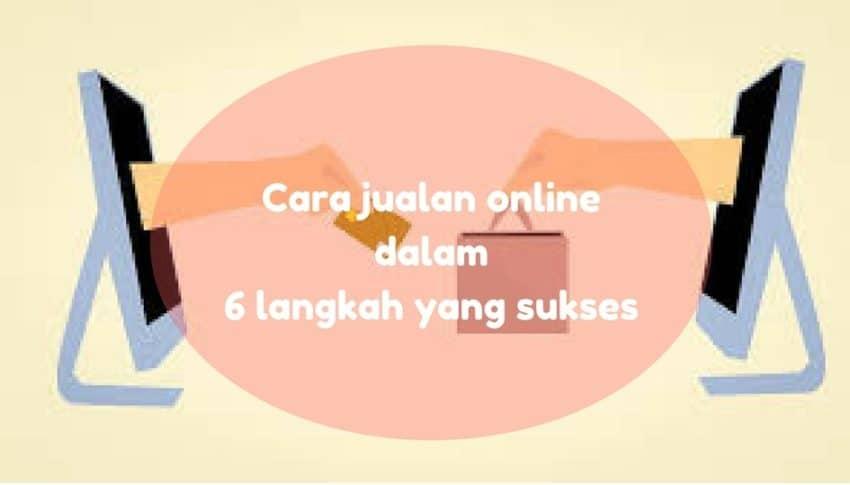 Cara jualan online